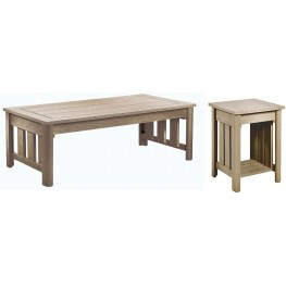 Stratford Beige Occasional Table Set