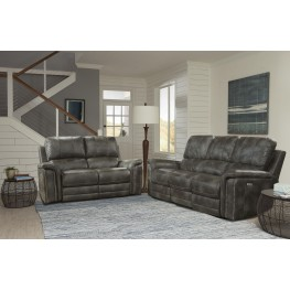 Belize Ash Dual Power Reclining Living Room Set