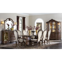 Bella Veneto Cognac Rectangular Dining Room Set