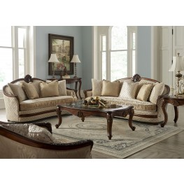 Bella Veneto Cognac Living Room Set