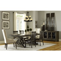Bellamy Rectangular Extendable Dining Room Set