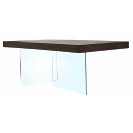 Cleo Blain Dark Walnut Rectangular Dining Table