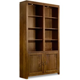 "Viewpoint Brown 52"" Wall Bookcase"