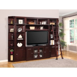 Boston 22 Inch Bookcase Entertainment Wall