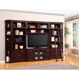 Boston 32 Inch Bookcase Entertainment Wall