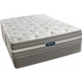 Recharge Chasewood Queen Pillowtop Luxury Firm Mattress with Foundation