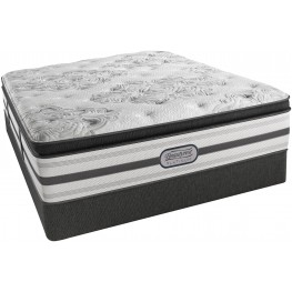 Platinum Encino King Luxury Firm Mattress with Foundation