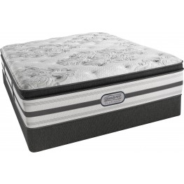BeautyRest Recharge Platinum Fandago Pillow Top Plush King Size Mattress with Foundation