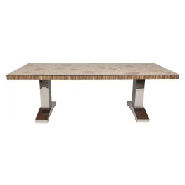 Magnolia Branch Rectangular Trestle Dining Table