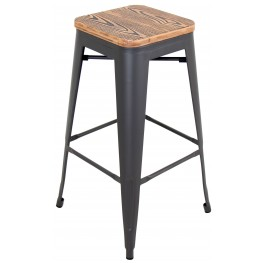 Oregon Medium Brown Pub Stool