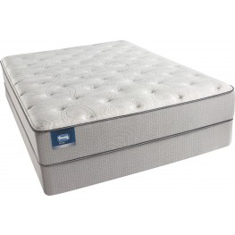 BeautySleep Areca Palm King Firm Mattress with Foundation