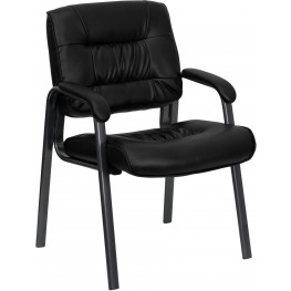 Black Executive Side Chair (Min Order Qty Required)
