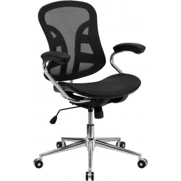 Mid-Back Chrome Computer Chair (Min Order Qty Required)