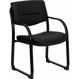 Black Sled Base Executive Side Chair (Min Order Qty Required)