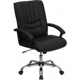 Black Manager's Chair