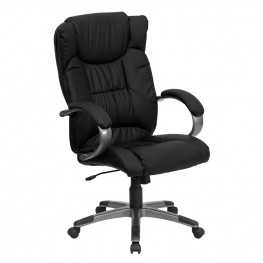 High Back Black Executive Office Chair (Min Order Qty Required)