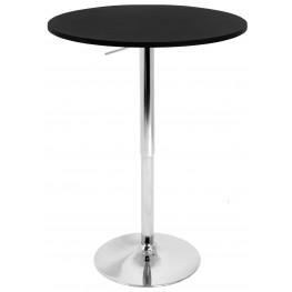 Adjustable Black Bar Table