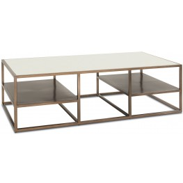 Bristol Bronze Metal Rectangular Coffee Table
