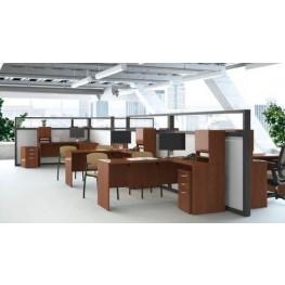 Venture 66 Inch Corner Workstation