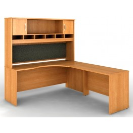 SRC002LOR Series C Light Oak Office Set