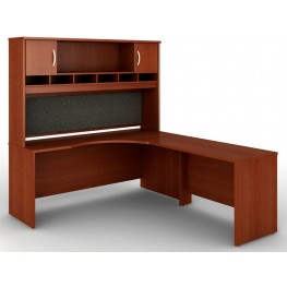 SRC002MAR Series C Mahogany Office Set