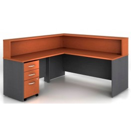 SRC003AU Series C Auburn Maple Office Set