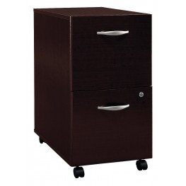 WC12952 Series C Mocha Cherry Mobile Pedestal
