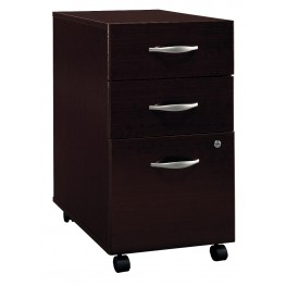 WC12953 Series C Mocha Cherry Mobile Pedestal