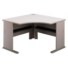 Series A Pewter 48 Inch Corner Desk