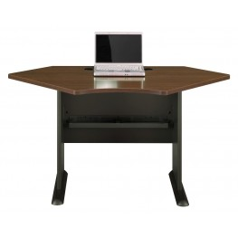 Series A Sienna Walnut 42 Inch Corner Desk