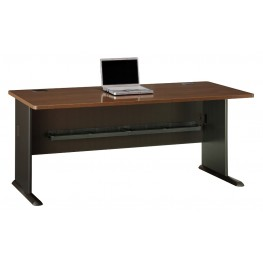 Series A Sienna Walnut 72 Inch Desk