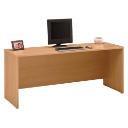 Series C Light Oak 72 Inch Credenza Shell