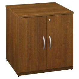 Series C Warm Oak 30 Inch Storage Cabinet
