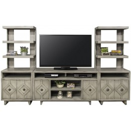Beverly Gray Entertainment Wall Unit