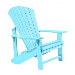 Generations Aqua Adirondack Chair