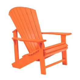 Generations Orange Adirondack Chair