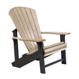 Generations Beige/Black Adirondack Chair