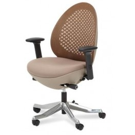 Linq Mid Mandarin Mesh Swivel Chair