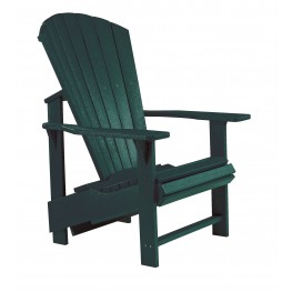 Generations Green Upright Adirondack Chair