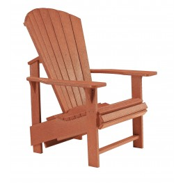 Generations Cedar Upright Adirondack Chair