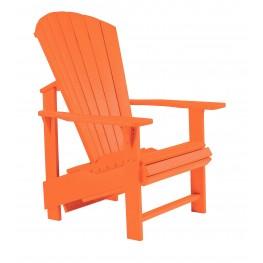Generations Orange Upright Adirondack Chair