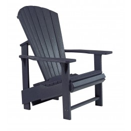 Generations Black Upright Adirondack Chair