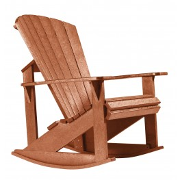 Generations Cedar Adirondack Rocking Chair