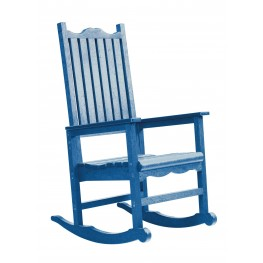 Generations Blue Casual Porch Rocker