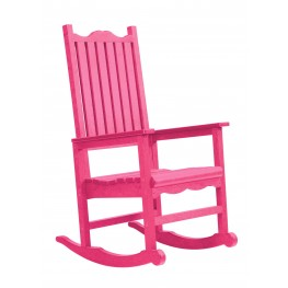 Generations Fuschia Casual Porch Rocker