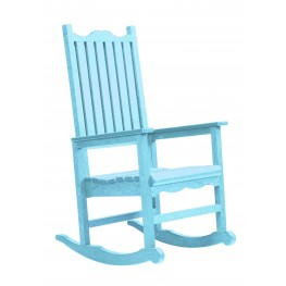 Generations Aqua Casual Porch Rocker