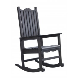 Generations Black Casual Porch Rocker