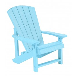 Generations Aqua Kids Adirondack Chair