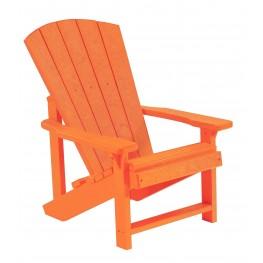 Generations Orange Kids Adirondack Chair