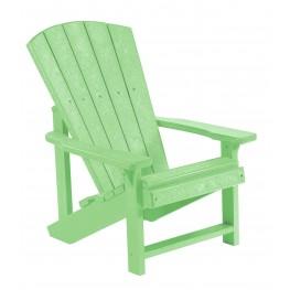 Generations Lime Green Kids Adirondack Chair